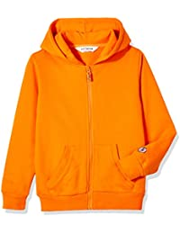 Kids' Brushed Fleece Zip-up Hooded Sweatshirt for Boys or Girls