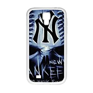 MLB New York Yankees White Phone Case For Samsung Galaxy S4