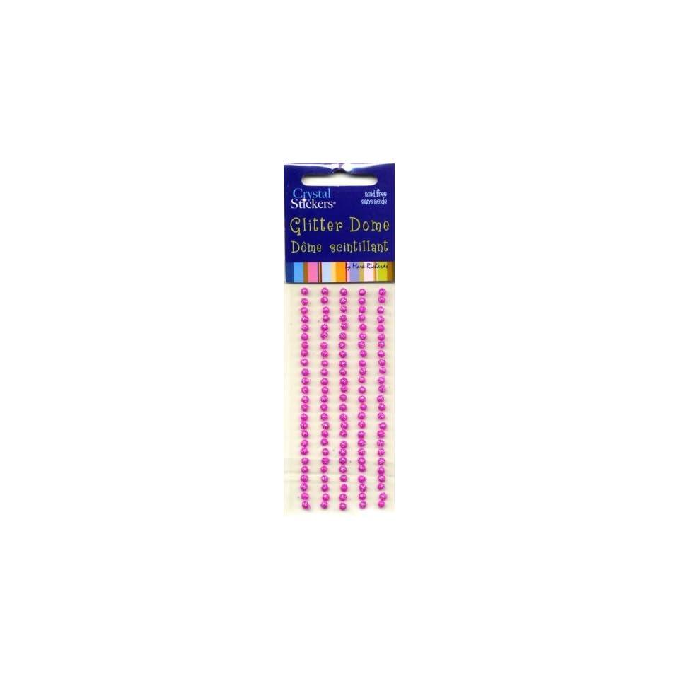 Glitter Dot Hot Pink, Small