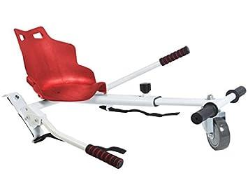 Sumun Sbksgt Asiento Kart Hoverboard, Blanco/Rojo, 6.5