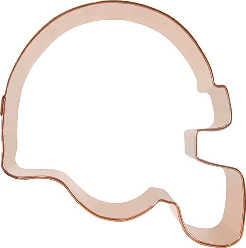 CopperGifts: Football Helmet 2 Cookie Cutter