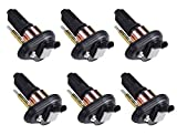 Pack of 6 Ignition Coils for Chevy - Trailblazer - Envoy - Rainer- Colorado - Canyon - Isuzu - Chevrolet GMC Olds Saab UF303 C1395 UF-303