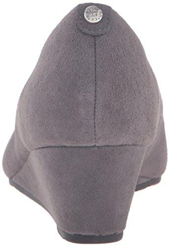 Women's Vendra Grey Clarks Wedge Bloom Pump Suede dq55C