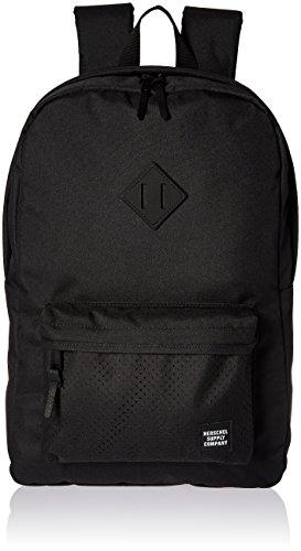 Herschel-Supply-Co-Unisex-Heritage-BlackBlack-Rubber-1-Backpack
