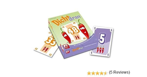 NSV - 4018 - DICHT DRAN - Juego de Cartas (versión en alemán): Amazon.es: Juguetes y juegos