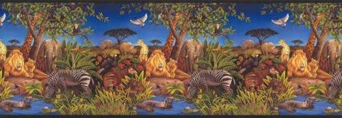 (Wallpaper Border Jungle Habitat)