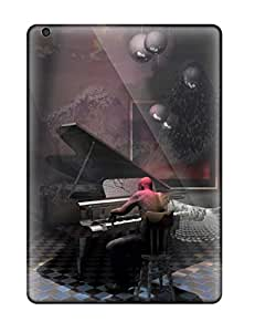 High Impact Dirt/shock Proof Case Cover For Ipad Air (surreal Art )