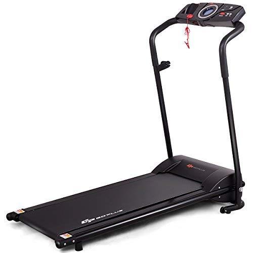 Goplus Electric Folding Treadmill Running Jogging Walking Machine Low Noise Space Saving w/Display (Black) Review