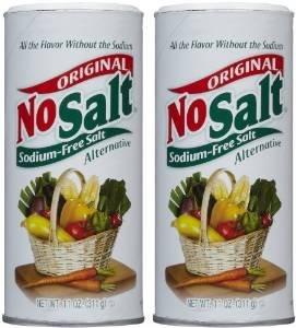 No Salt Salt Substitute, 11-Ounce Cans (Pack of 2) by Nosalt