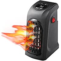 Mobile Heater Portable Wall-Outlet Electric Heater Handy Air Heater Warm Electric Radiator Warmer