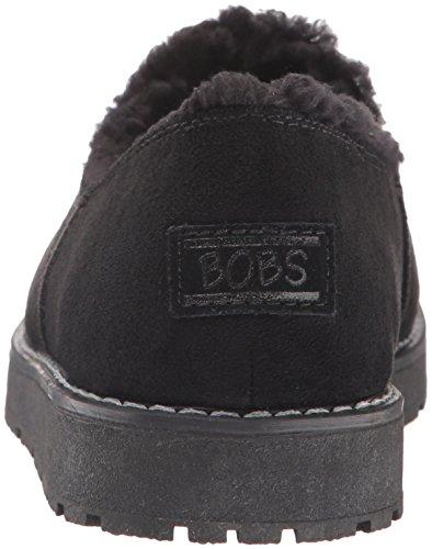 Skechers Bobs De Womens Bobs Alpine Noir Diamant Confortable Pantoufle Noir