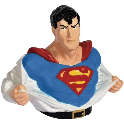 Superman Ceramic Cookie Jar