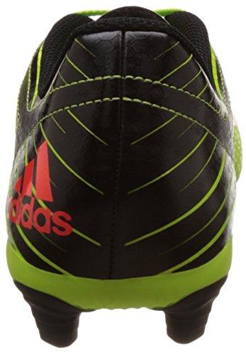adidas Messi 15.4 Fxg, Botas de Fútbol para Hombre Verde / Rojo / Negro (Seliso / Rojsol / Negbas)