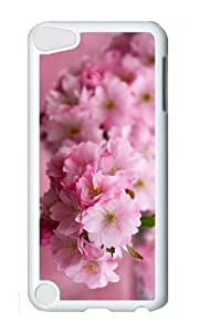 Ipod 5 Case,MOKSHOP Cute sakura blossoms spring Hard Case Protective Shell Cell Phone Cover For Ipod 5 - PC White