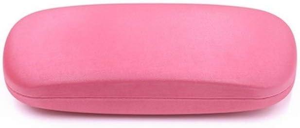 PHYZGHN Espectáculo PU del Caso de Simple espectáculo Infantil Estuche de Gafas Caja de Hierro del Caso (Color : Pink, Size : 16.2 * 6.2 * 3.8cm): Amazon.es: Hogar