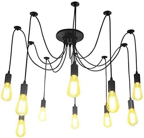 Lámparas de araña Antiguo Clásico Ajustable Retro DIY