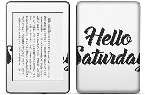 igsticker kindle paperwhite 第4世代 専用スキンシール キンドル ペーパーホワイト タブレット 電子書籍 裏表2枚セット カバー 保護 フィルム ステッカー 016272 英語