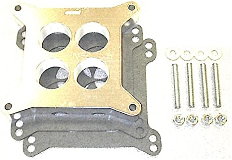 Street and Performance Electronics 00600 Helix Power Tower Plus Carburetor Spacer for Holley 600-650-700 cfm 4BBL carb