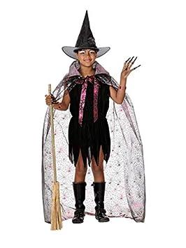 DISBACANAL Disfraz Bruja Barato niña - Único, 8 años: Amazon.es ...