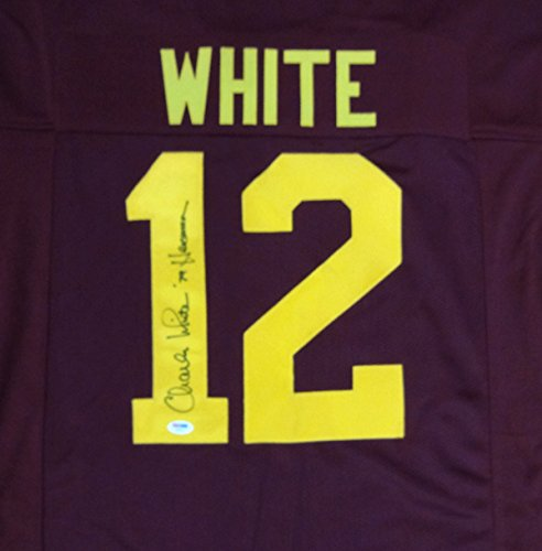 Charles White Autographed USC Trojans Jersey