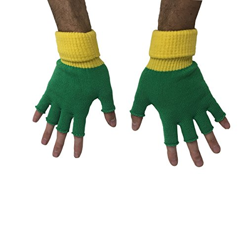 Ash Ketchum Trainer Fingerless Gloves ()