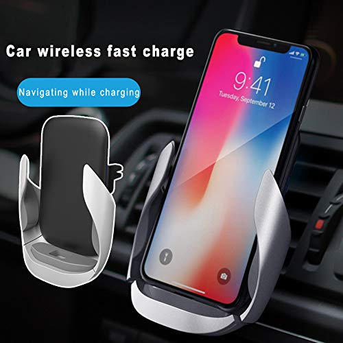 Swf Windshield - 2019 New Car Phone Charger Mount Holder, Car Charger Holder Automatic Clamping 360 Degree Rotation for iOS Android (2pcs)
