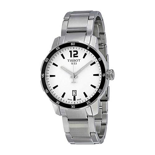 Tissot Men's T0954101103700 Quickster Analog Display Swiss Quartz Silver Watch