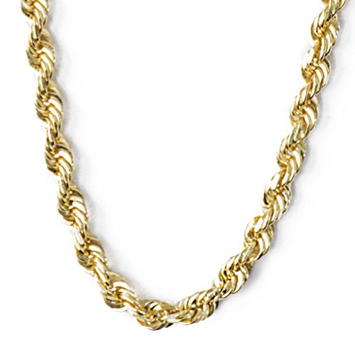 SOLID 14k Yellow Gold 24 Inch