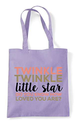 Shopper Star How Lavender Tote Twinkle Know Bag Loved Are You Do Little qv55HXwA