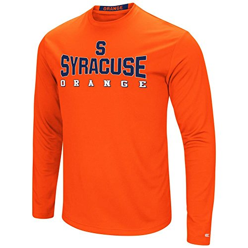 Colosseum Syracuse University T-Shirt Performance Long Sleeve Shirt (XX-Large)
