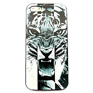 QYF iPhone 5/iPhone 5S compatible Graphic/Mixed Color/Special Design Back Cover