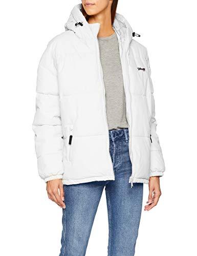 Blanco White Schott NYC Jktalaska Chaqueta para Mujer pqRXAqw