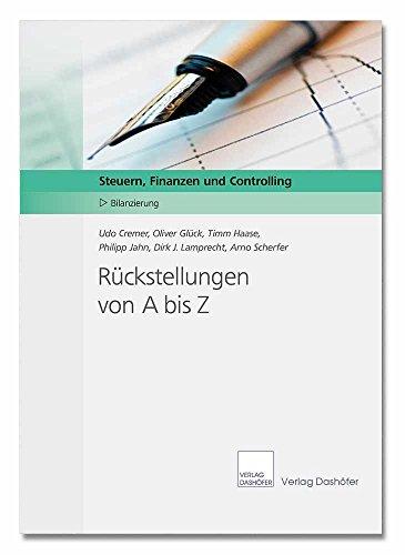 Download Rückstellungen von A bis Z (German Edition) Pdf