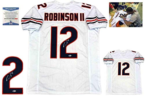 Signed Allen Robinson Jersey - White Beckett - Beckett Authentication - Autographed NFL Jerseys