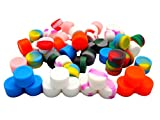 YHSWE 1000Pcs 2ml Silicone Oil Kitchen Container Dab Wax Concentrate Jar