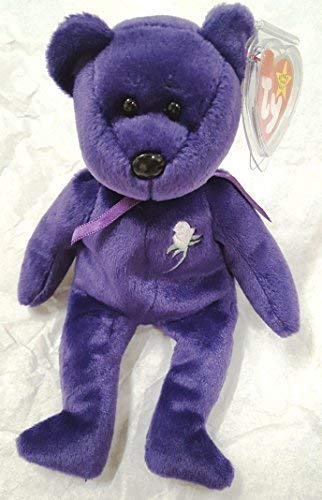 Rare -Princess Diana Ty Beanie Baby Mint Retired #472 PE Pellets 2nd Generation ()