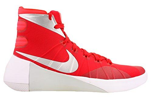 962dc3aefd83 Nike Mens Hyperdunk 2015 TB Basketball Shoes University Red Bright Crimson  White 749645-