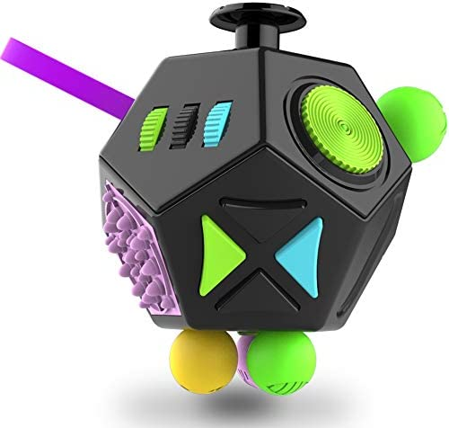 Fidget-Dodecagon –12-Side-Fidget-Cube/