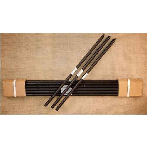 Steel Stakes Round 3/4 inch x 18 inch - 48 Bundles of 10, 480 stakes