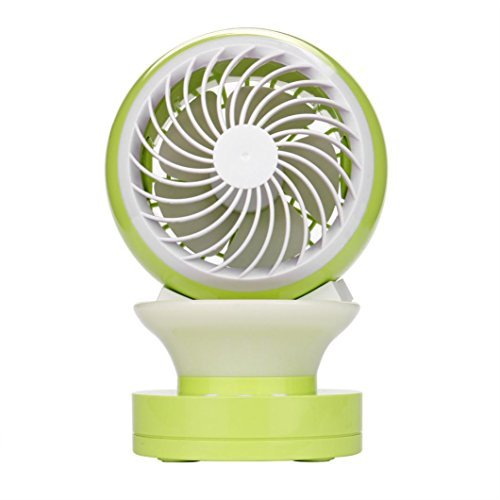 Tootu Summer Portable Air Conditioner Air Conditioning Fan Touch Easy Control Cool (Light Green)