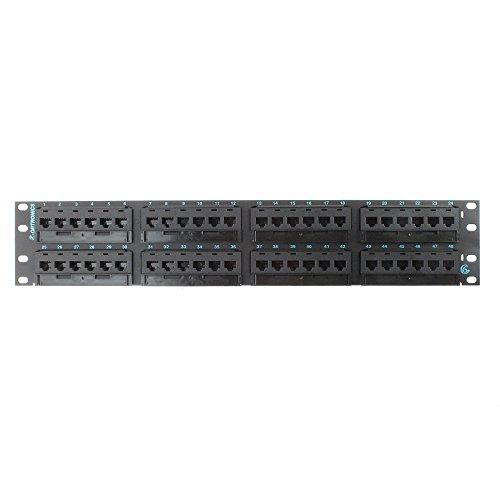 6 Port Patch Panel (OR-PHD66U48 - Ortronics Clarity 6 Patch Panel, Six-Port Modules, 48-Port)