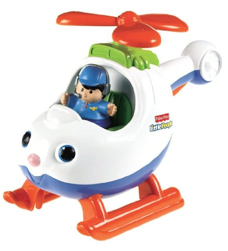 (Fisher-Price Little People Spin n' Fly Helicopter)