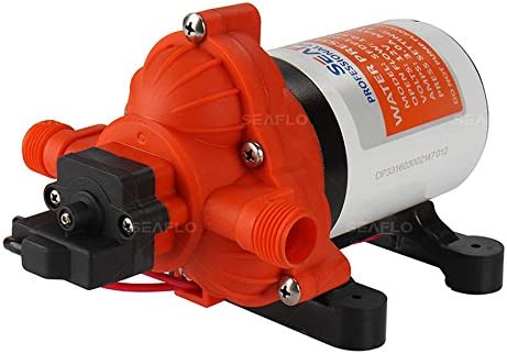 Seaflo 3.0 gpm AUTOMATIC WATER PUMP RV BOAT 12V All New with 4 Year Warranty!