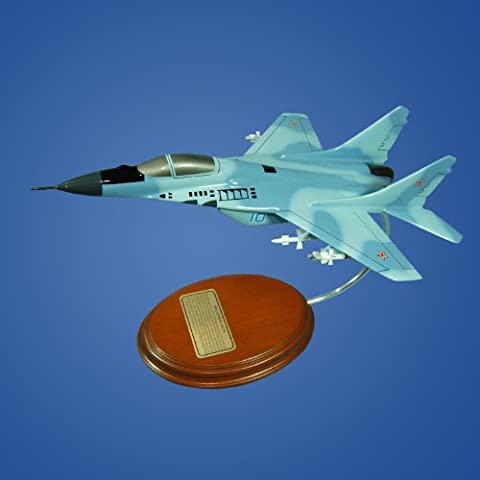 Mastercraft Collection Mig-29 Fulcrum Soviet Union Russia Air Force Fighter Jet Model Scale:1/57 - Soviet Air Force Fighter