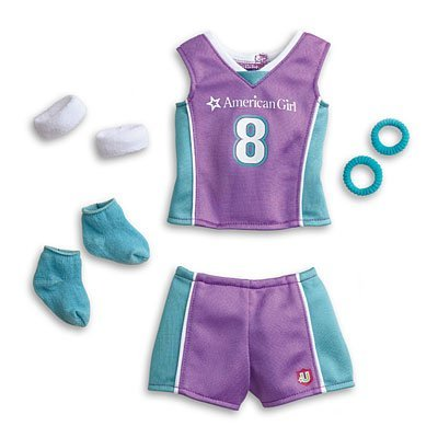 American Girl - Basketball Outfit for Dolls + Charm - MY AG 2013 by American Girl