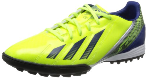 F10 TRX TF Football Trainers Electricity/Hero Ink/Metallic Silver - size 7.5 - amarillo/azul
