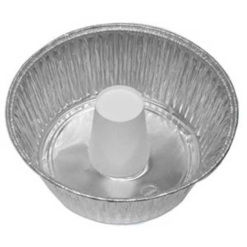 Handi Foil of America 10 inch Angel Food Cake Pan with Cup -- 250 per case.