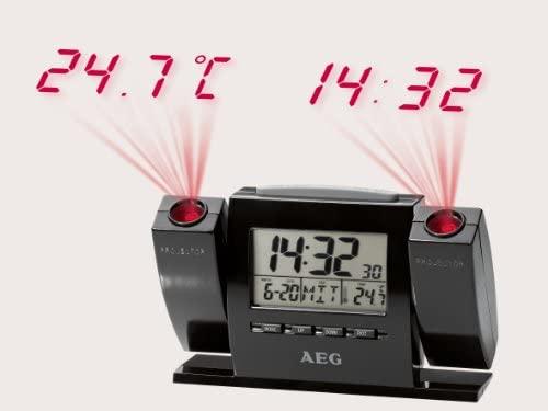 AEG MRC-4002P - Despertador proyector, pantalla LCD: AEG: Amazon ...