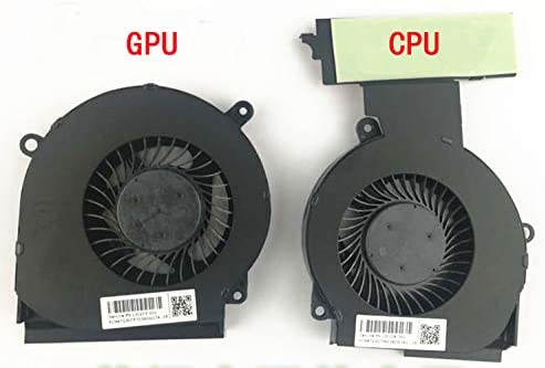 GPU L/üfter Set L30203-001 L30204-001 HK-PART Ersatz-L/üfter f/ür HP Omen 15-DC CPU L/üfter