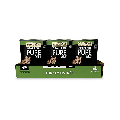 CANIDAE Grain Free PURE WILD: Redwood Summit Cat Wet Food with Turkey, 13 oz (12-pack) by CANIDAE (Image #3)